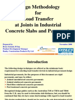 4 Ireland - Design Methodology for Load Transfer at Joints - Nov 08