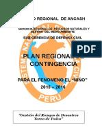 Plan Fenomeno Del El Niño 2015