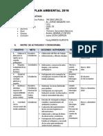 Plan Ambiental Para La Carpeta Pedagogica