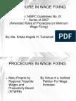 Wage Fixing