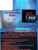 Criminal Law Bar Trend Version 3