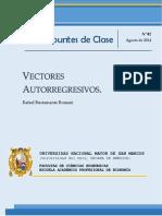 Apuntes de Clase Nro2 Vectores Autorregresivos