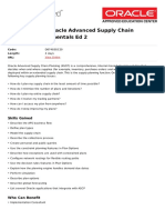 r12 2 Oracle Advanced Supply Chain Planning Fundamentals Ed 2