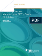 Extending Oracle BI for PPG