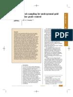 Grab sampling for underground gold mine grade control.pdf