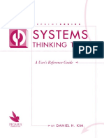 Systems Thinking Tools