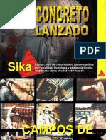 CONCRETO LANZADO   sika