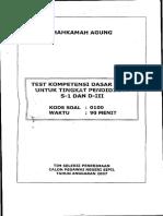 Tes Kompetensi Dasar (CAKIM 2009) 03.pdf