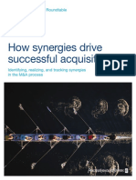 How Synergies Drive Successful Acquisitions