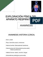 Practica exploración respiratorio