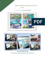 Creación y Videoconferencia-presentación de Un Cómic