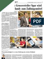 Artikel vom 14.08.2010 in der Südostschweizer Zeitung
