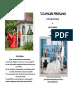 Cover Tata Upacara Pernikahan