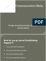 Personal Communication Skills