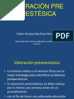 Valoración Pre Anestésica