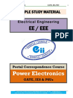 Power Electronics Electrical GATE IES PSU Material