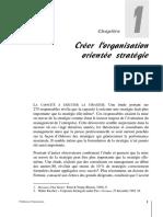 Organisation Orientée Stratégie