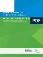 Child Marriage Report for TELANGANA 23.12