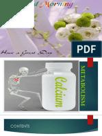 Calcium Metabolism Pragnya
