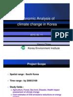 Economic Analysis of Climate Change in Korea