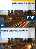 ABAP Managed Database Procedures