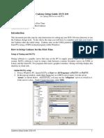 Guide 410 Setup PC