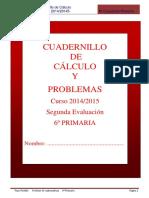 Cuadernillo Calculo y Problemas -2 Evaluacion