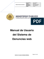 SGC-F-GPR-14 Manual de Usuario Sistema Denuncias Web
