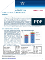 Infrastructure Cost March 2013
