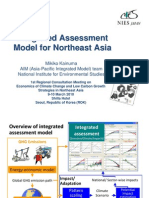 Integrated Assessment Model for Northeast Asia