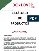 CATÀLOGO CHOCLOVER GENERAL 16.08.2017