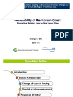 Vulnerability of the Korean Coast