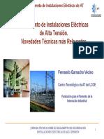 2 Reglamento de Instalaciones Electricas de Alta Tension Novedades Tecnicas Mas Relevantes