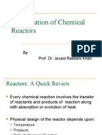 Optimization of Chemical Reactors