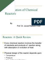 Optimization of Chemical Reactors