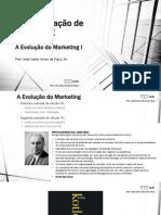 Administração de Marketing - 1 - Introdução - Parte I