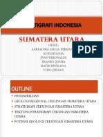 Stratigrafi Indonesia Smatera Utara