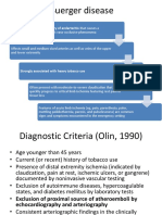 Buerger Disease & ALI