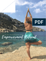 Symi Yoga Retreat's Empowerment Retreat Brochure