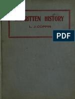 Unwritten History 1919