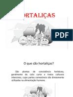 HORTALIÇAS apresentação