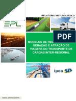 2 Relatorio Modelos de Regressao Para Geracao e Atracao de Viagens