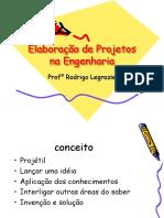 Elaboracao de Projetos Na Engenharia