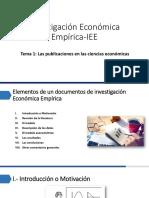 PPT1_Investigación Económica Empírica-IEE