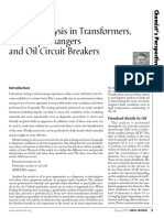Metals Analysis in Transformers