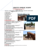 Oas Allbreed Horse Show