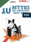10 Myths JEE Aspirants Must Know -Watermark
