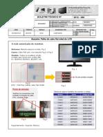 BT2012-086 - Falha Do Cabo Flat Wled Do LCD