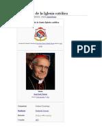 Camarlengo de La Iglesia Católica