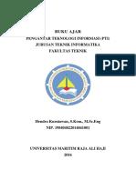 2017 - Buku Ajar - Hendra Kurniawan - Pti